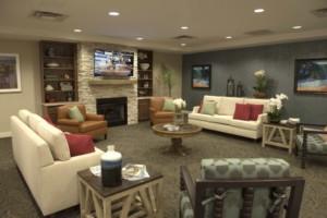 Mercer County NJ Nursing home Living Room