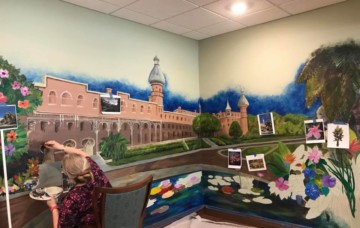Resident Mural at Florida Community Featured on FOX 13 News