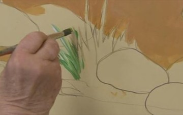 Memory Care Residents to Paint Wall Mural as Part of Art Therapy Program